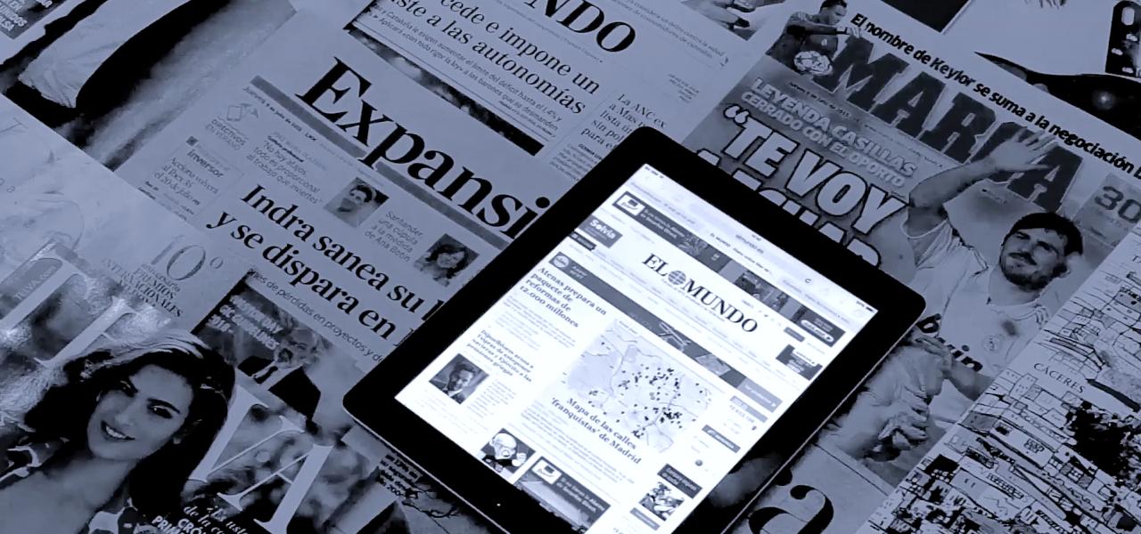 10 hitos del periodismo digital en España